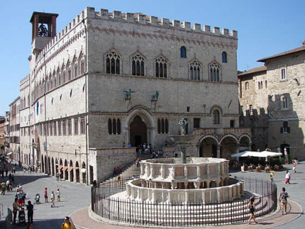 Perugia, a magnificent and dynamic city