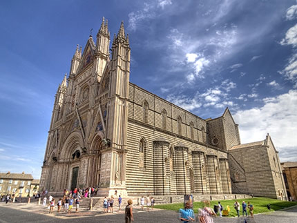 Orvieto, an history carved in the rock